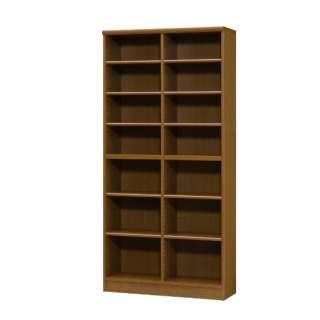 Shelfit(シェルフィット) ラック 本棚 (幅90x高さ180cm) ブラウン カラーラック NC1890BR NC1890BR