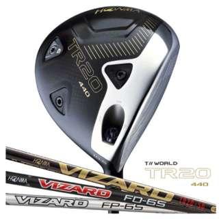 ドライバー T//WORLD TR20-440 10.5°《VIZARD FP-5 シャフト》S