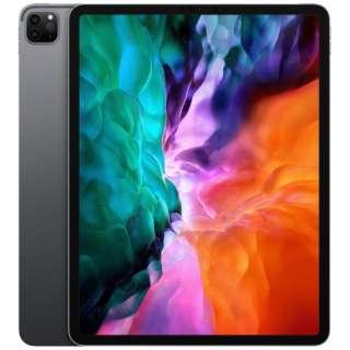 iPad Pro 12.9インチ Liquid Retinaディスプレイ Wi-Fiモデル 512GB - スペースグレイ MXAV2J/A 2020年モデル [512GB]