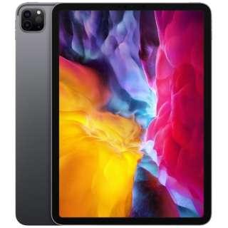 iPad Pro 11インチ Liquid Retinaディスプレイ Wi-Fiモデル 1TB - スペースグレイ MXDG2J/A 2020年モデル [1TB]