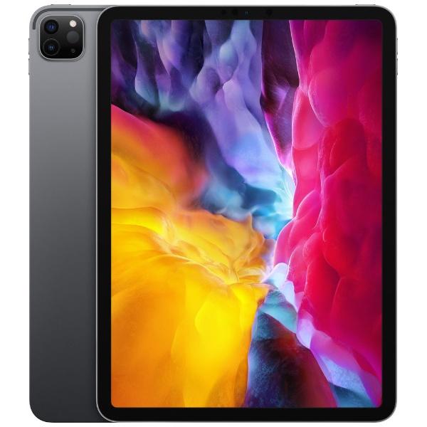iPad Pro 11インチ Liquid Retinaディスプレイ Wi-Fiモデル 128GB - スペースグレイ MY232J/A 2020年モデル [128GB]