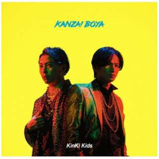 KinKi Kids/ KANZAI BOYA 初回盤A(DVD付) 【CD】