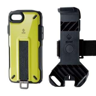 iPhone SE(第2世代)4.7インチ対応 NESTOUT Trekking イエロー PM-A19ANESTTYL