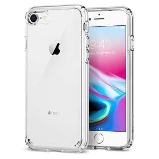 iPhone SE(第2世代)4.7インチ case Crystal Hybrid Crystal Clear