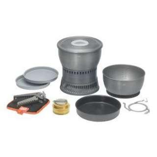 エスビット アルミクックセット(アルコールバーナー付/H128×φ202mm) ESCS2350WN
