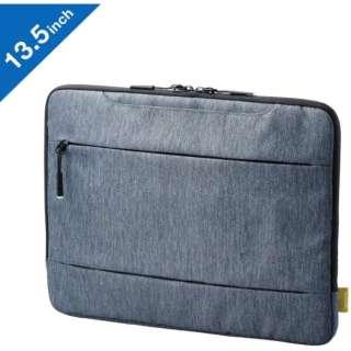 Surface Laptop 3/2(13.5インチ)用 インナーバッグ グレー BM-IBMSL1913GY