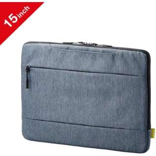 Surface Laptop 3用[15インチ]インナーバッグ グレー BM-IBMSL1915GY