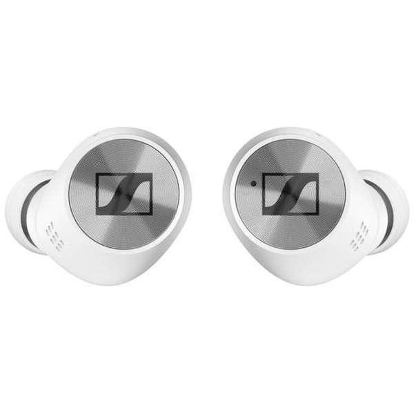 フルワイヤレスイヤホン M3IETW2-WHITE ホワイト [リモコン・マイク対応 /ワイヤレス(左右分離) /Bluetooth /ノイズキャンセリング対応]