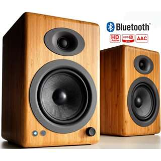 ワイヤレススピーカーシステム(ペア) ソリッド・バンブー A5+BTN [Bluetooth対応]