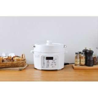 電気圧力鍋 ホワイト PC-MA2-W