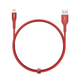 AUKEY(オーキー) ケーブル Impulse Titan ケブラー [Type-A to Lightning] 1.2m レッド AUKEY(オーキー) Red CB-AKL1-RD [1.2m]
