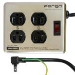 スチールタップ STEEL TAP シルバー PT400SV [1.8m /4個口 /スイッチ付き(一括)]