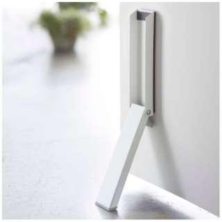 マグネット折畳ドアストッパー スマート ホワイト(Magnet Folding Door Stopper Smart WH) ホワイト 02486