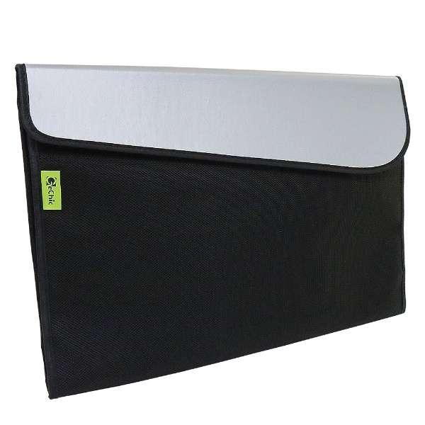 On-Lap 1503シリーズ用 スリーブケース ブラック×シルバー SLEEVE/15A1