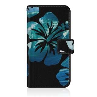CaseMarket ZS620KL スリム手帳型ケース タヒチ ハイビスカス サーフィン グラフィックス ブルー ZS620KL-BCM2S2302-78