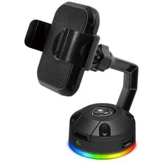 スマホスタンド 非接触充電 USBポート BUNKER M RGB