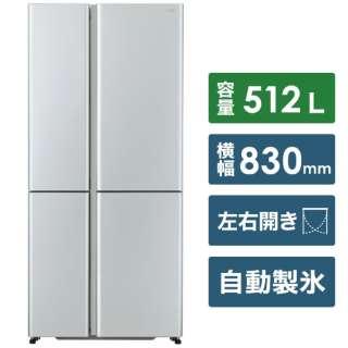 AQR-TZ51J-S 冷蔵庫 サテンシルバー [4ドア /左右開きタイプ /512L] [冷凍室 180L]《基本設置料金セット》