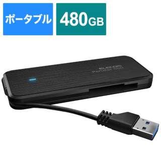 ESD-EC0480GBKR 外付けSSD ブラック [ポータブル型 /480GB]