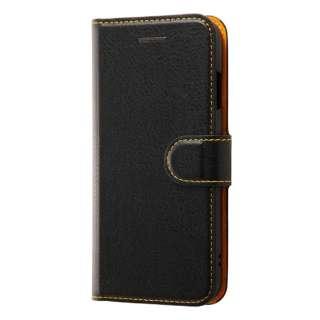 iPhone SE(第2世代)4.7インチ/8/7 手帳 シンプル マグネット RT-P24ELC1/BOR BK/OR