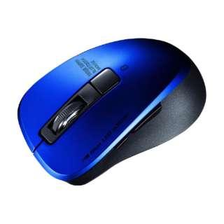 MA-BTBL155BL マウス ブルー [BlueLED /5ボタン /Bluetooth /無線(ワイヤレス)]