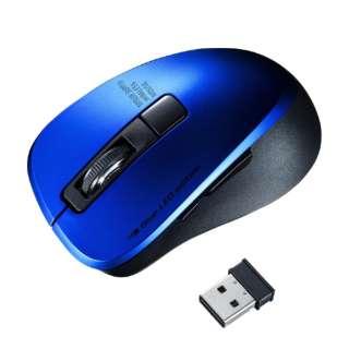MA-WBL153BL マウス ブルー [BlueLED /5ボタン /USB /無線(ワイヤレス)]