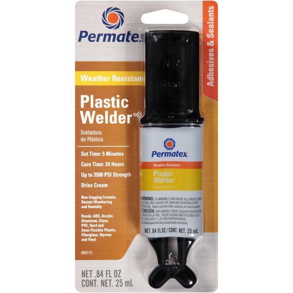 パーマテックス PTX84115 プラスチック用パーマポキシー 2液性 各25ml