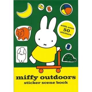 【バーゲンブック】miffy outdoors sticker scene book