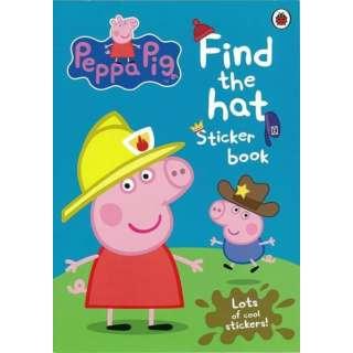【バーゲンブック】Find the hat Sticker book-Peppa Pig