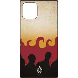 iPhone11Pro 鬼滅の刃 スクエアガラスケース 煉獄杏寿郎 <れんごくきょうじゅろう>