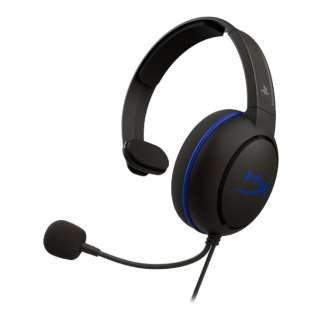 HX-HSCCHS-BK/AS ゲーミングヘッドセット HyperX Cloud Chat Headset(PS4対応) [φ3.5mmミニプラグ /両耳 /ヘッドバンドタイプ]