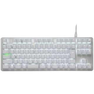 RZ03-02640800-R3J1 ゲーミングキーボード BlackWidow Lite JP Mercuryホワイト [USB /有線]