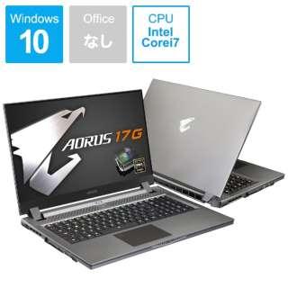 KB-8JP2130MH ゲーミングノートパソコン AORUS 17G [17.3型 /intel Core i7 /SSD:512GB /メモリ:16GB /2020年5月モデル]