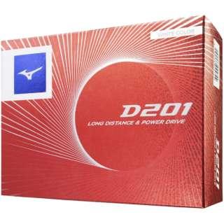 ゴルフボール D201《1ダース(12球)/ホワイト》5NJBD22010