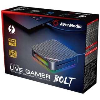 ゲーマー向け録画・ライブ配信用 キャプチャーデバイス Live Gamer BOLT GC555