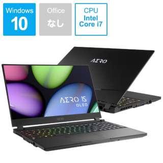 KB-8JP5130SP ゲーミングノートパソコン AERO 15 OLED [15.6型 /intel Core i7 /SSD:512GB /メモリ:16GB /2020年4月モデル]