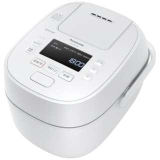 SR-MPW100-W 炊飯器 ホワイト [5.5合 /圧力IH]