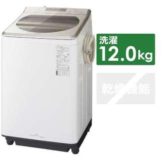 NA-FA120V3-N 全自動洗濯機 シャンパン [洗濯12.0kg /乾燥機能無 /上開き]
