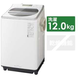 NA-FA120V3-W 全自動洗濯機 ホワイト [洗濯12.0kg /乾燥機能無 /上開き]