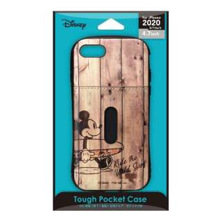 iPhone SE(第2世代) タフポケットケース ミッキーマウス PG-DPT20M03MKY