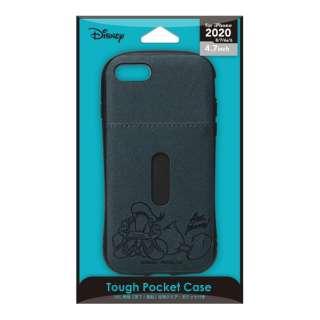 iPhone SE(第2世代) タフポケットケース ドナルドダック PG-DPT20M04DND