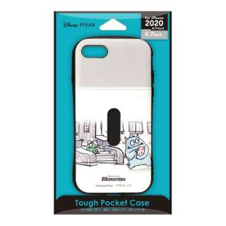 iPhone SE(第2世代) タフポケットケース モンスターズ・インク PG-DPT20M05MOI