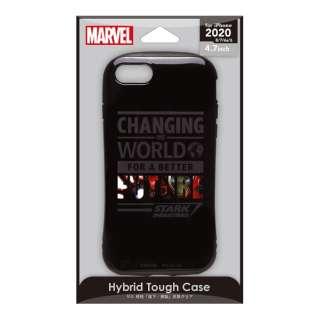 iPhone SE(第2世代) ハイブリッドタフケース アイアンマン PG-DPT20M13IRM
