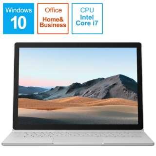Surface Book3[13.5型/SSD 1TB/メモリ 32GB/Intel core i7/プラチナ/2020年]SLS-00018ノートパソコン