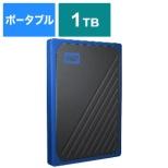 WDBMCG0010BBT-JESN 外付けSSD USB-A接続 My Passport Go [1TB /ポータブル型]