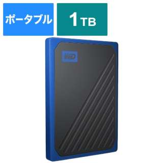 WDBMCG0010BBT-JESN 外付けSSD USB-A接続 My Passport Go [ポータブル型 /1TB]