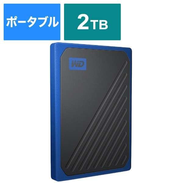 WDBMCG0020BBT-JESN 外付けSSD USB-A接続 My Passport Go [2TB /ポータブル型]