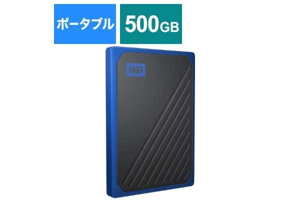 WESTERN DIGITAL「SSD My Passport Go」WDBMCG5000ABT-JESN