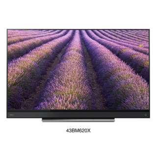 【アウトレット品】 43BM620X(R) 液晶テレビ REGZA(レグザ) [43V型 /4K対応 /BS・CS 4Kチューナー内蔵] 【再調整品】