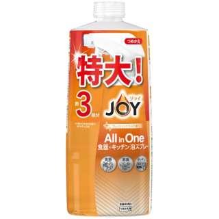 JOY(ジョイ ミラクルクリーン 泡スプレー 食器用洗剤 フレッシュシトラスの香り  つめかえ用 3回分 690ml
