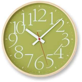 A Y clock green